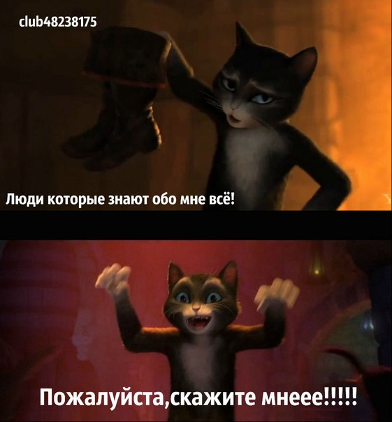 Кот в сапогах секс
