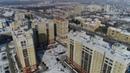 Серебряный берег вид сверху. Вид на Омск с высоты. Вид с коптера на Омск