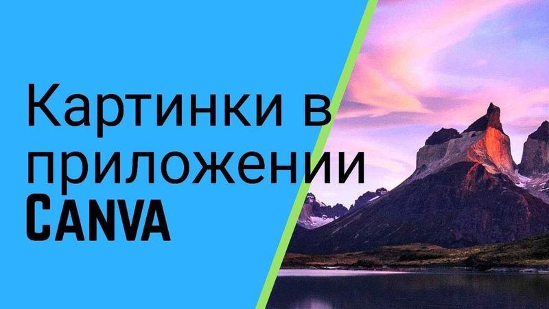 Приложение Canva для создания картинок для соцсетей