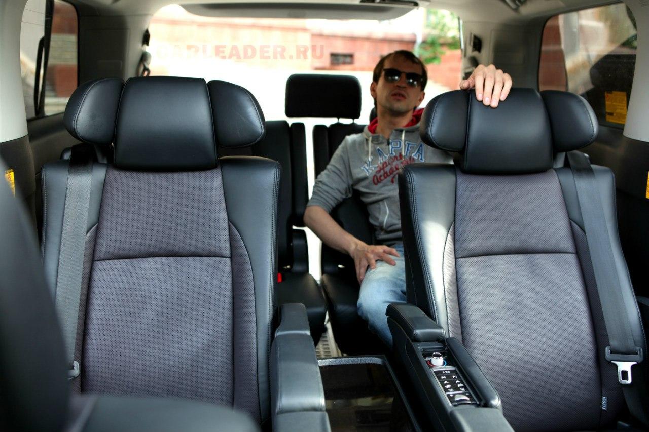 Задние сидения Alphard