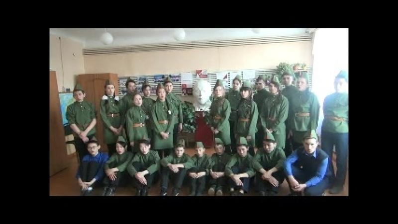 споем_с_аригус КАТЮША исполняют учащиеся 8 Б класса МБОУ Баргузинская СОШ