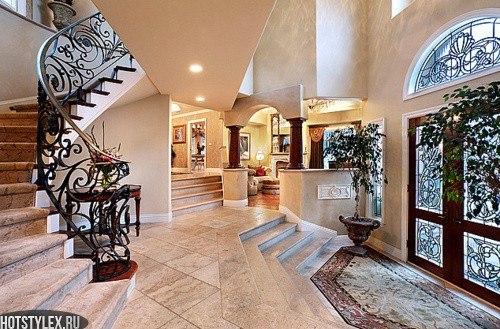 Красивые коридоры в домах фото