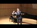 O. Taktakishvili Sonata for flute and piano in C Major. III. Allegro scherzando