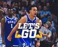 """Duke Men's Basketball on Instagram: """"M🔵😈D 😎 #DukeWins"""""""