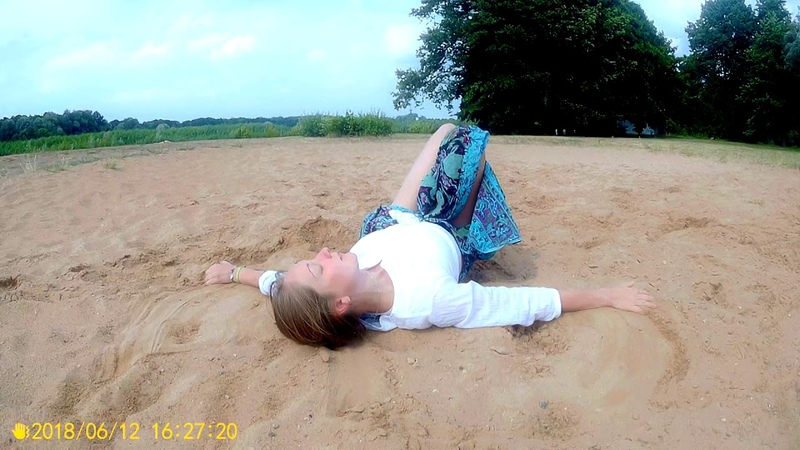Евгения Барменкова Танец на песке