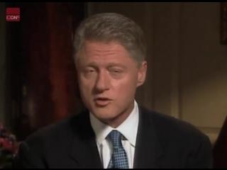 Bill Clinton admits he fuck with Monica Lewinsky