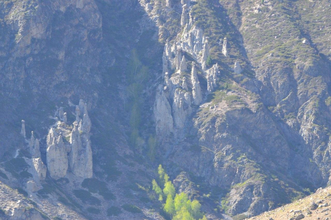 Каменные грибы долина Чулышмана Республика Алтай