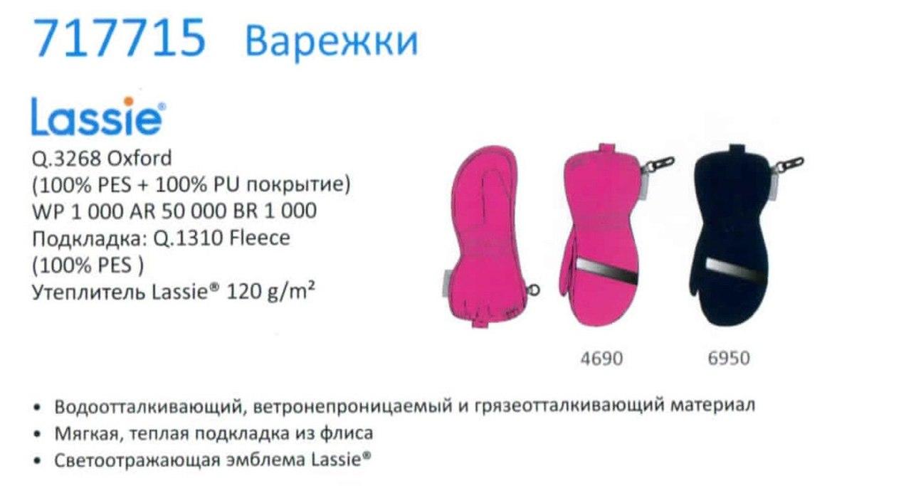 Варежки 717715-6950
