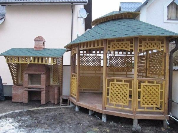 Сад паровозик из дерева