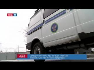 РЖД ТВ Итоги недели 10.12.2017 ФГП ВО ЖДТ России 96 лет