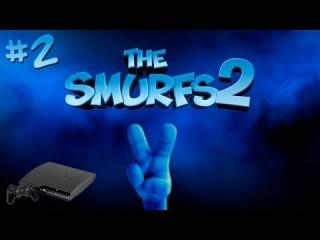 [PS3] The Smurfs 2 прохождение - Серия 2 [Жирножаб-босс]