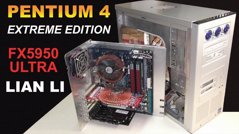 Dream build socket 478 Pentium 4 Extreme Edition Geforce FX5950 Ultra LIAN LI PC-60 - RETRO Hardware