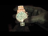 Часы с бриллиантами общей массой 1,25 карат (мужские)