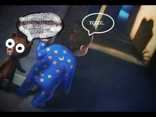 Прохождение Among The Sleep №2: Страшная ху!@mbala.