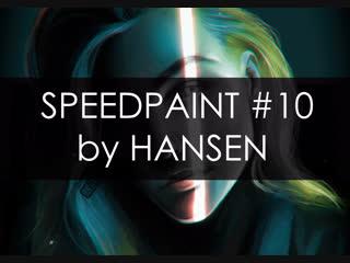 SPEEDPAINT #10 by HANSEN