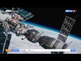 Владимир Вдовиченков и Павел Деревянко выйдут в открытый космос (сюжет программы