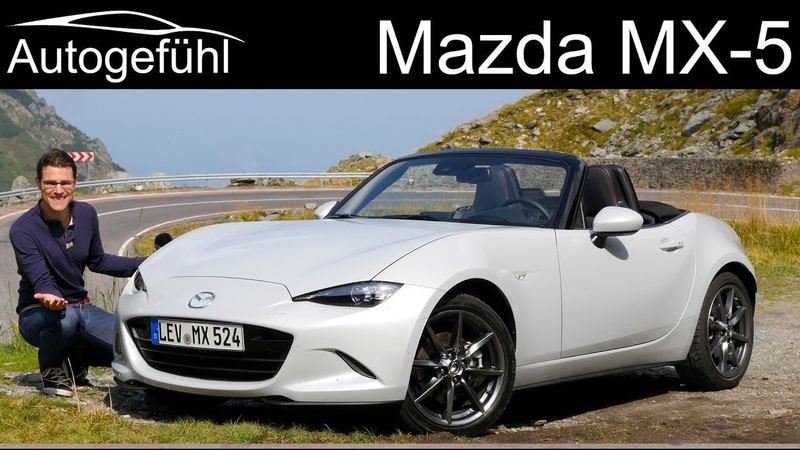 Mazda MX-5 Miata Facelift on the spectacular Transfagarasan road! FULL REVIEW 2019 - Autogefühl