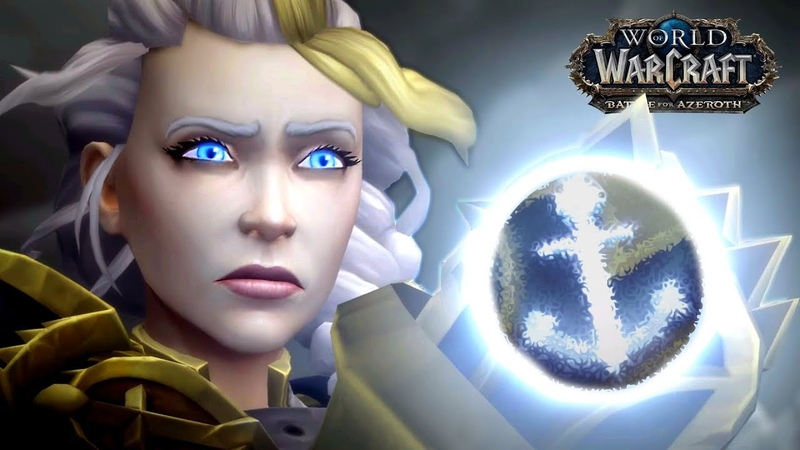 Final Alliance Cinematic - Jaina Becomes Admiral of Kul'Tiras (WOW BFA)