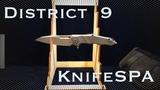 Paladin от District 9 - Удивляет качеством и продуманностью Эксклюзивный обзор edc ножа Knife SPA