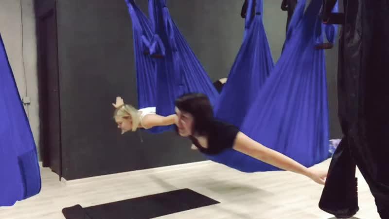 Youcantlt йога в гамаках тольятти.mp4