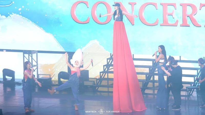 [4K] 180818 마마무 콘서트 4season ss 1cm의 자존심 화사 직캠 (Mamamoo Hwasa Fancam)