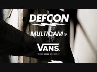 VANS + DEFCON SK8-HI NOTCHBACK PRO MULTICAM BLACK, www.lbtinc.ru