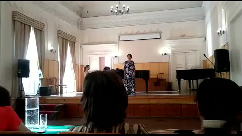 Первая песня Лауры из оперы Каменный гость