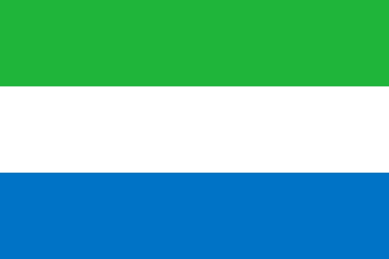 Флаг Сьерра-Леоне