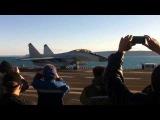 Викрамадитья МиГ-29К/КУБ в Баренцевом море / Vikramaditya MiG-29K