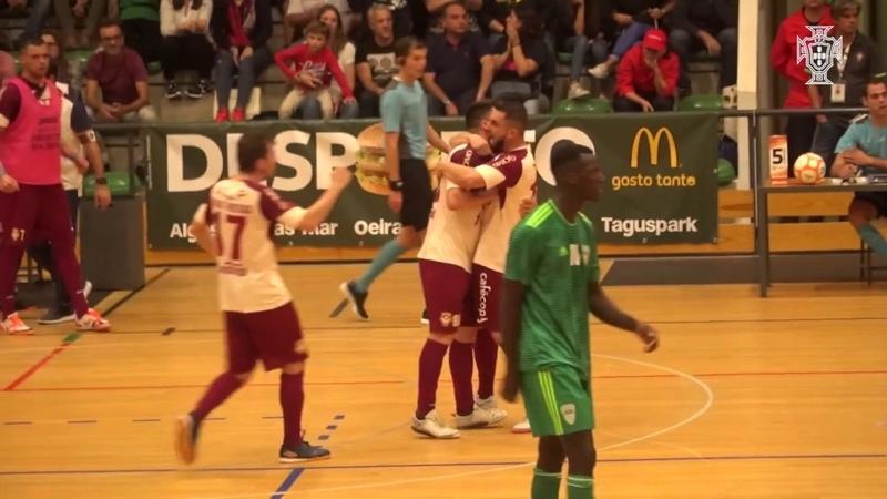 Liga Sport Zone, 6.ª jornada: Leões Porto Salvo 3-2 AD Fundão