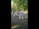 тренировка по каратэ Трансляция из Гончаровского парка