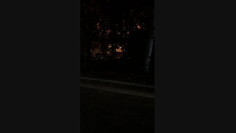 Пожар в Горном техникуме сгорел спортивный зал с пристройкой.