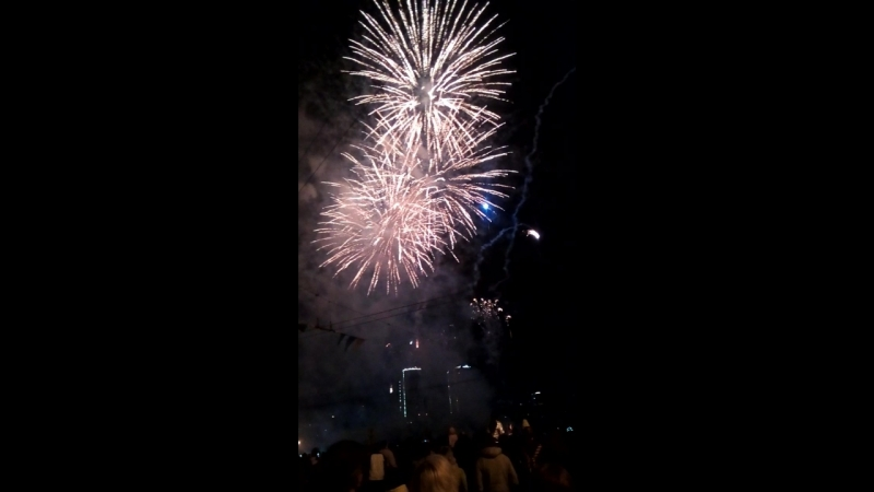 Салют 3 на День города Иваново 19 05 2018