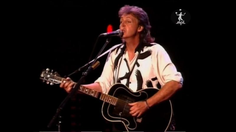 Paul McCartney Yesterday 17 30 Live in Charlotte 15 006 1993