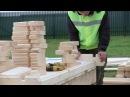 Обзор технологии строительства домов из мини-бруса на примере дома Ясень . Полная версия