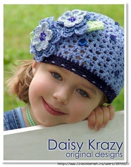 Детская шапочка крючком (5 фото) - картинка
