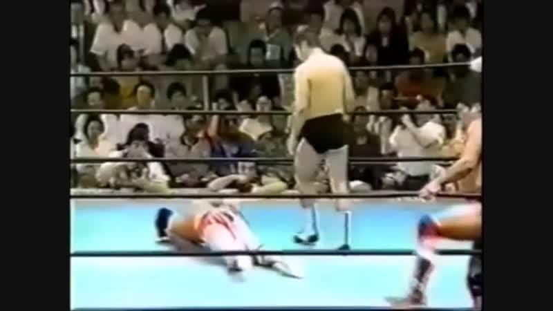 1995.02.26 - Toshiaki Kawada/Akira Taue/Masanobu Fuchi vs. Mitsuharu Misawa/Jun Akiyama/Tsuyoshi Kikuchi