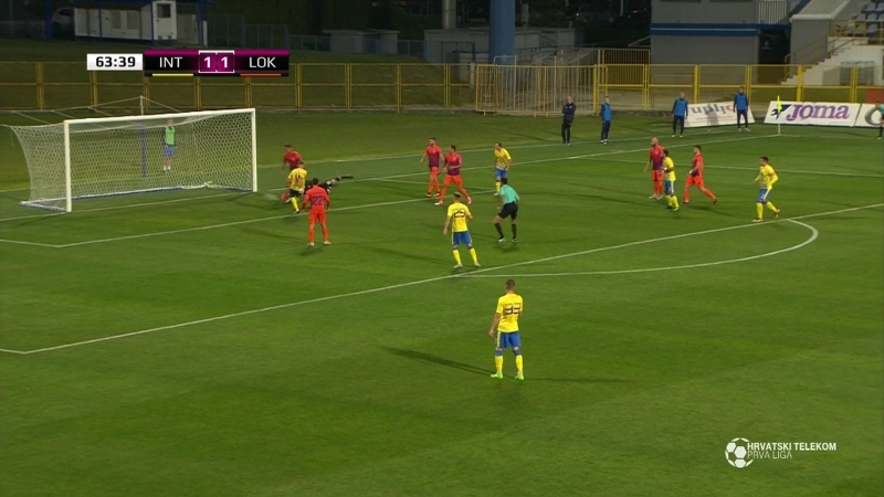 Inter-Zapresic - Lokomotiva 2-1, Sazetak (1. HNL 2018/19, 10. kolo), 05.10.2018. Full HD