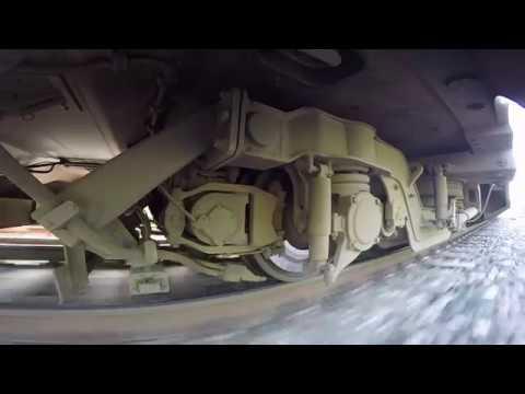 GoPro Тележка Штадлерского поезда 5 Stadler EMU train bogie wheelcam 5