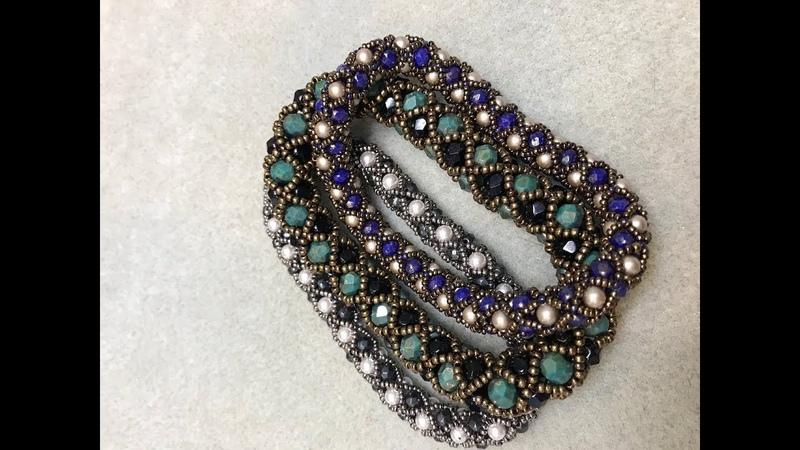 Filled Tubular Netting Bracelet