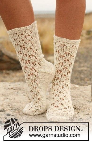 Ажурные носочки (3 фото) - картинка