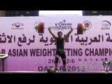 Tarek Yehia from Egypt broke the Arab Record in 85Kg category.