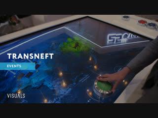 Контент интерактивного стола для ПАО «Транснефть»