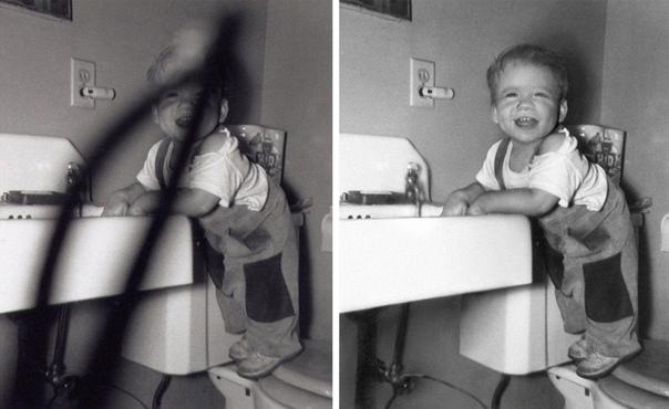Талантливый ретушёр возвращает к жизни старые и, казалось, безнадёжно испорченные фотографии Графический дизайнер Мишель Спэлдинг, кроме своей основной работы, иногда берет заказы по