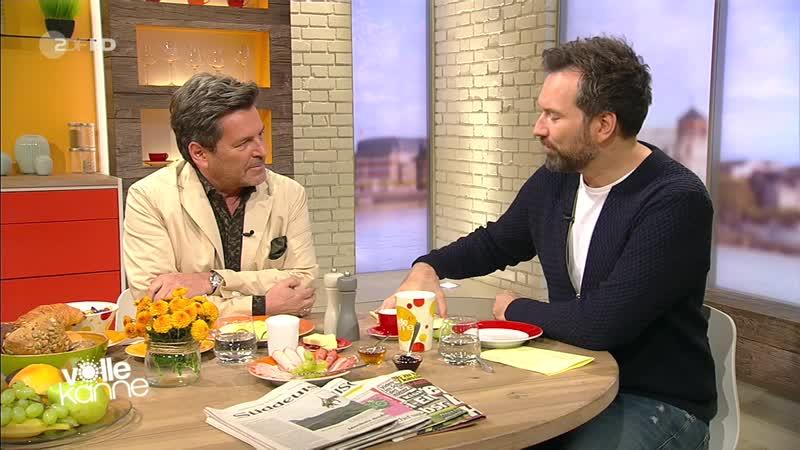 Thomas Anders в программе ZDF HD - Volle Kanne 23.10.2018