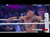 [Легендарный Киллер] WWE Wrestlemania 29 John Cena vs The Rock Full Match Highlights HD