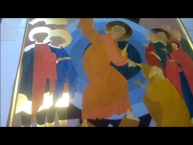 РОСКРЫШЬ ИКОНЫ Воскресения Христова В гостях у иконописца Мастер класс уроки иконописи