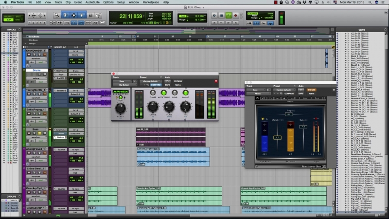 Сравнение Aphex Big Bottom c Waves RBass [Yorshoff Mix]