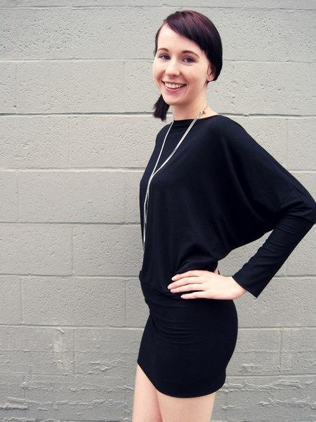платье или туника связанная норвежским узором