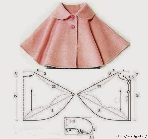 Выкройка кардигана для платья